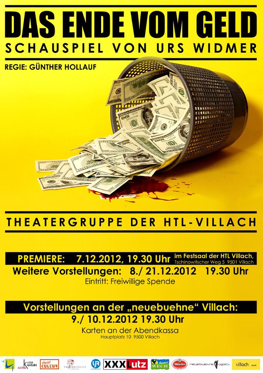 """Plakat """"Das Ende vom Geld"""""""