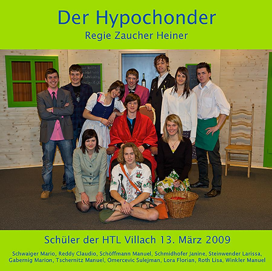 """Plakat """"Der Hypochonder"""""""
