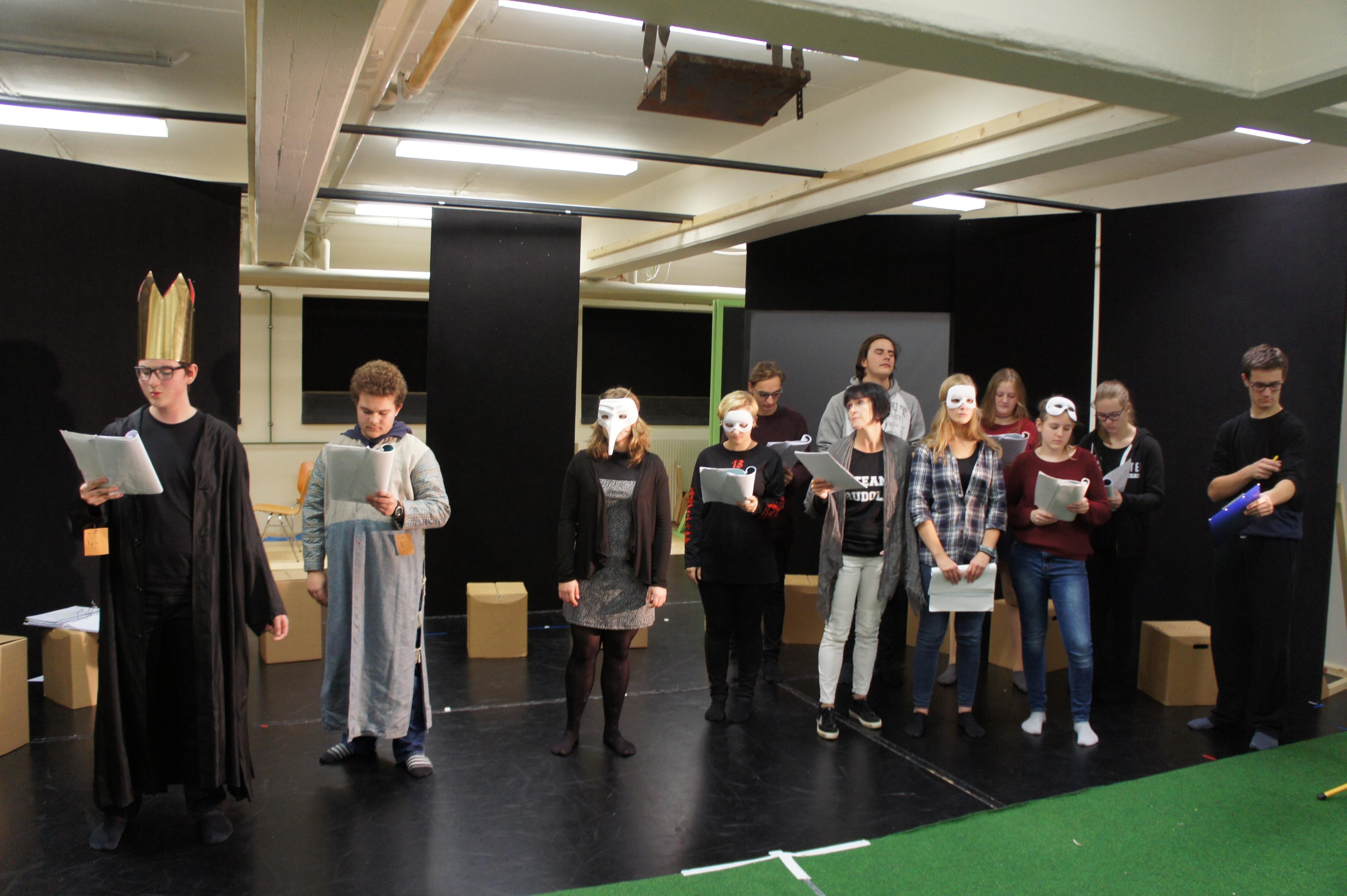 Die Theatergruppe Lichterloh